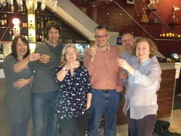 Our first get together in Liverpool