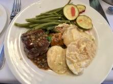 lamb and dauphinoise potatoes